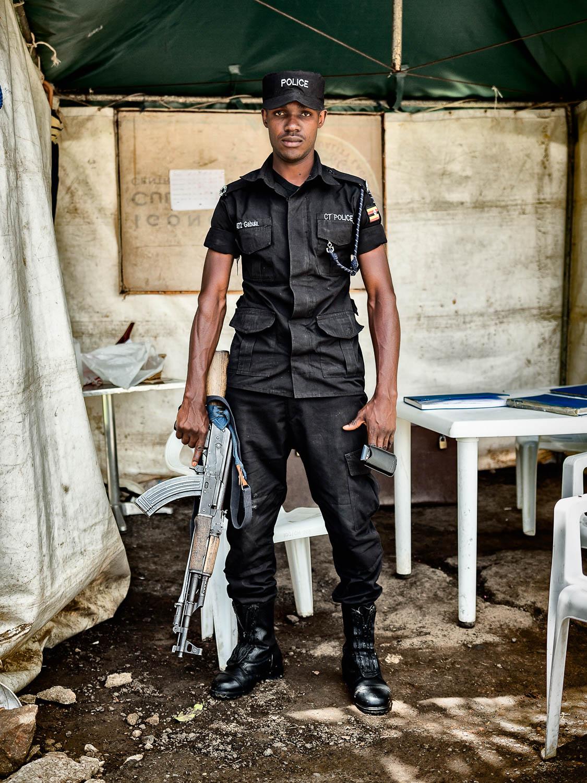Policeman – Uganda